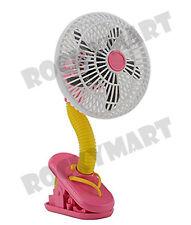 """O2 COOL 4"""" Clip Fan - FLIP FLOP RM3244"""