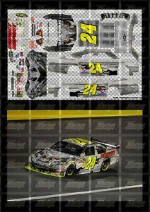 NASCAR 1/24 DECALS JG11 - JEFF GORDON 2009 CUP #24 TRANSFORMER - DUPONT