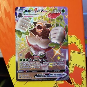 Rillaboom VMAX Shiny SV106/122 Shining Fates Pokémon Pack Fresh NM Near Mint
