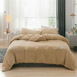 2020 Winter Flannel Bedding Kit Soft and Warm Lamb Wool Top Home
