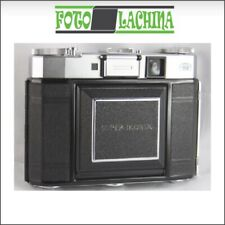 🔝Zeiss Super Ikonta IV Tessar 75 mm f 3,5 su synchro compur 6x6 Folding Camera