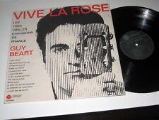 GUY BEART Vive La Rose DISQUES TEMPOREL French Pressing VG++/NM- Shrink