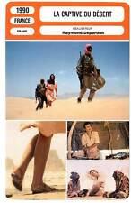 LA CAPTIVE DU DESERT (FICHE CINEMA) Bonnaire,Depardon 1990 Captive of the Desert