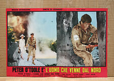 L'UOMO CHE VENNE DAL NORD poster fotobusta Peter O'toole Murphy's War H32