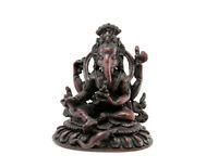 Estatua De Ganesh Elefante Resina Amuleto de la Suerte Ganesha NEP21 3119