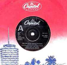 "7"" - THE B.B. & Q. BAND - ON THE BEAT (BOOGIE FUNK, SOUL) LISTEN - OYELO"