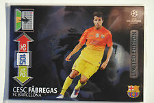 Cesc Fabregas Limited Edition - Panini Adrenalyn XL Champions League 2012/13