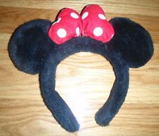 Disney Store MINNIE MOUSE Halloween Costume Headband EARS