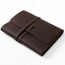 Ancicraft Classic Leather Journal Notebook Refillable With Strap A5 Lined Paper