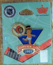 2007 Ottawa Senators baby New Year's pin