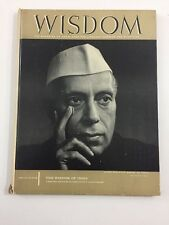 Wisdom :  India Edition  - Time Life Magazine (Hardcover, June 1960, Vol. 34)