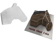 HORSE FACE SHAPED BIRTHDAY NOVELTY BAKING CAKE TIN PAN
