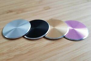 For Magnetic Car Phone Holder - Replacement Mobile Metal Plate Colour Disc 3M