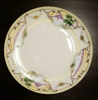 Lovely Vintage Meito China dinner plate measures 9 inches across