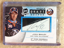 08-09 UD The Cup Auto Rookie Draft Boards #DB-JB JOSH BAILEY /25