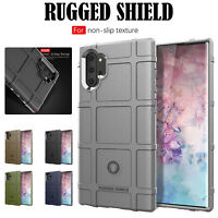 For Samsung Galaxy S10 S9 Note10+ Armor Shockproof Rugged Rubber Hard Case Cover