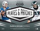 2016 Panini Plates & Patches Football Factory Sealed Hobby Box