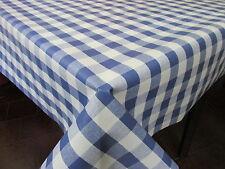 MANTEL HULE PVC ESTAMPADO Ref. PICNIC AZUL VARIAS MEDIDAS