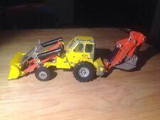 Dinky Toys Muir 2WL Front End Loader Tractor 437 w/ Rare Big Digger Arm Vintage