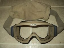 ESS OAKLEY US MILITARY ISSUE NVG PROFILE TERRAIN TAN APEL BALLISTIC GOGGLES