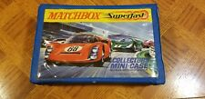 1970 Matchbox Superfast Carrying Case Holds 24 Cars