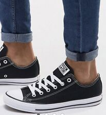 BLACK CONVERSE ALL STAR LOW UK ADULT  7!!Low FAST DESPATCH £29.99!!!