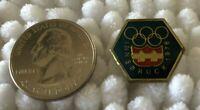 1976 Innsbruck Austria Winter Olympic Games Vintage Pin Pinback #34788