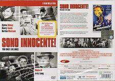 SONO INNOCENTE !  - DVD+BOOKLET (NUOVO SIGILLATO) FRITZ LANG