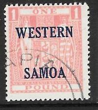 Elizabeth II (1952-Now) Used Samoan Stamps (Pre-1962)