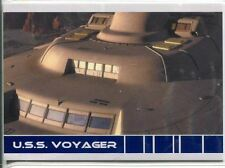 Star Trek Voyager Quotable USS Voyager Chase Card V5