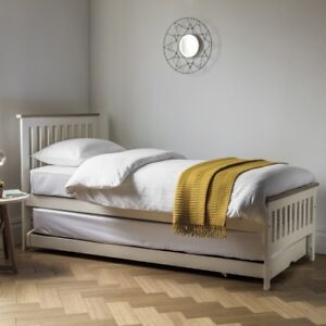 Frank Hudson Galery Direct Banbury White Guest Bed (Mattress not included)
