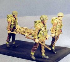 Resicast 1/35 British Airborne Para Stretcher Team Carrying Wounded WWII 355531