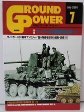 Ground Power Magazine Book WWII Tank Vehicles Photos Japan #86 July 7 2001