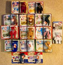 Collection of 33 McDonald's Happy Meal Ty Beanie Babies + Extras, 2000
