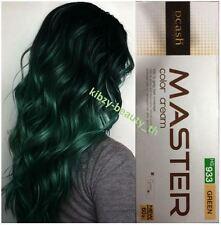 DCASH Master Permanent Hair Dye Cream Super Color #HG 933 Green Colour Punk Goth