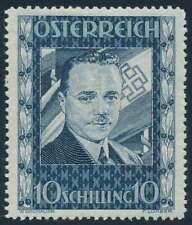 Österreich Nr. 588 ungebraucht/*, 10 Sch. Engelbert Dollfuß (67697)