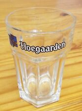Hoegaarden Half Pint To Line Glass with Government Stamp. Drink Alcohol Beer.