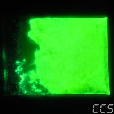 25g Glow Effekt  Neon Yellow Green Grün Effektlack Dip Leucht Pigment (100g=80€)