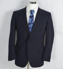 Oxxford Clothes Onwentsia Neiman Marcus Blazer Super Worsted Wool Size 41