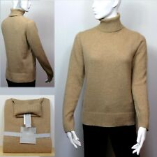 M&S Ladies LAMBSWOOL Rich POLO NECK JUMPER ~ Size 12, 16 or 18 ~ CAMEL
