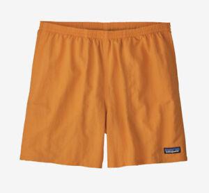 """Patagonia Men's 5"""" Baggies Shorts Mango Extra Large (57021)"""