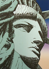 """Boutwell """"Liberty '86"""" Signed Numbered Serigraph Art Print, Statue of Liberty NY"""