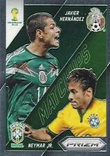 2014 Panini Prizm World Cup Brasil - Brazil '14 'Matchups' - Chase Insert Cards