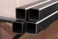 Box Section Mild Steel (4x) 25x25x2.5mm x 0.5m Long 4 PACK Square Tube FREE POST