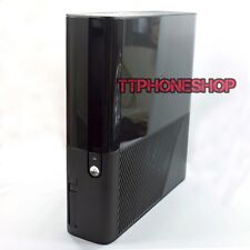 New Black Full Housing Faceplate Shell Case For Xbox 360 E Slim
