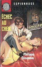 Arabesque Espionnage 284 - Philippe Casanova - Echec.. - EO 1963 - Jef de Wulf