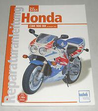Reparaturanleitung Honda CBR 900 RR – ab Baujahr 1992