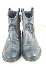 Women's Ariat Western Cowgirl Size 8.5B  Ankle Boot Bluish Charcoal Grey Zipper