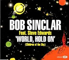 BOB SINCLAIR & CUTEE B World, hold on   6 TRACK CD NEW - NOT SEALED