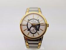 Edox Men's Les Bemonts Hand Winding White Dial Watch